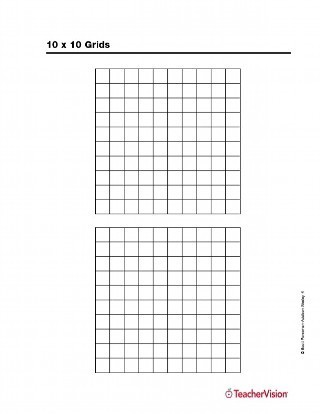 10x10 Grid To Print   Fill Online, Printable, Fillable, Blank