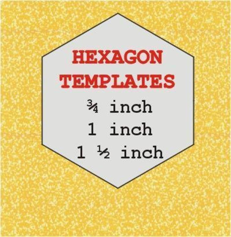 4 Inch Hexagon Template Printable | shop fresh