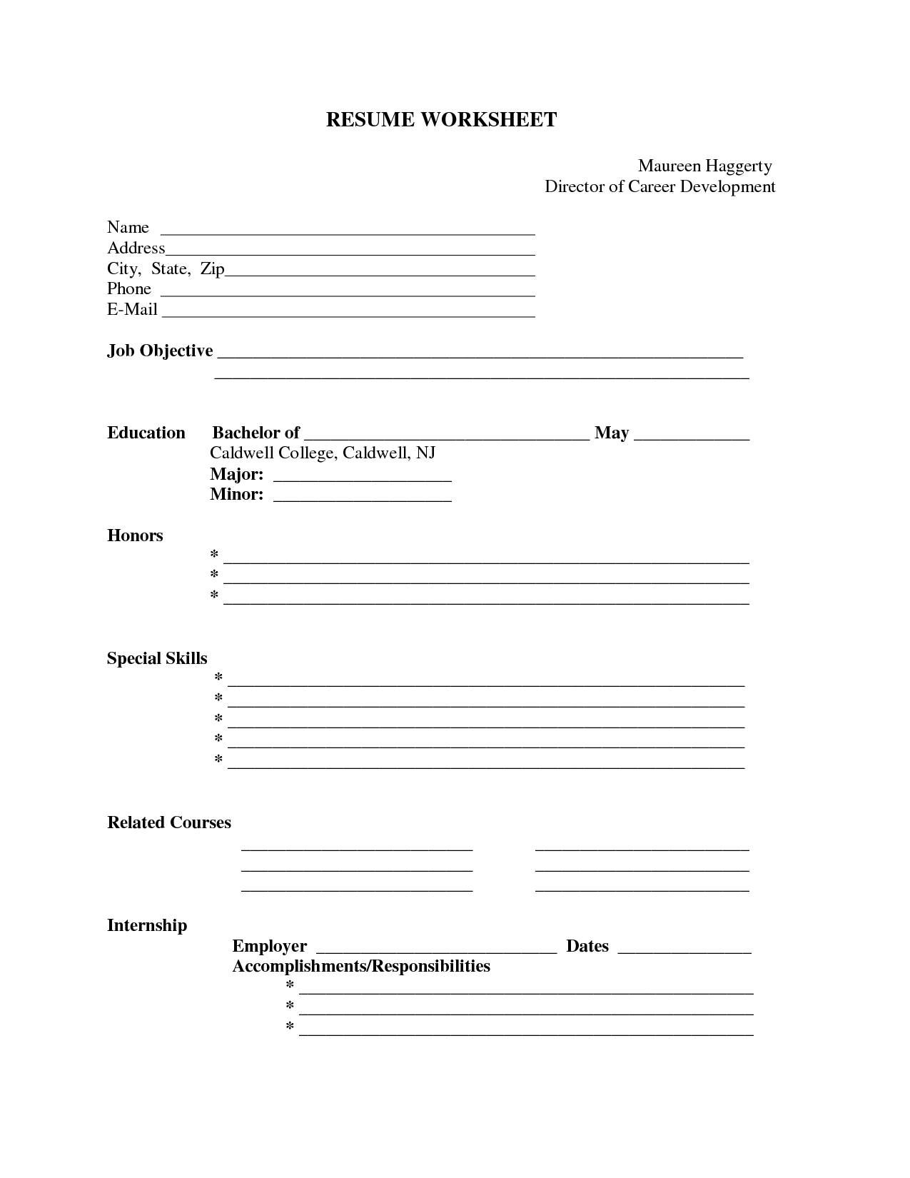 Pin by jobresume on Resume Career termplate free | Pinterest