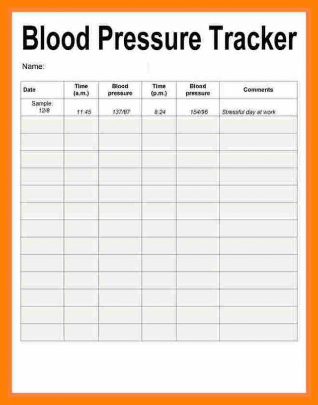 blood pressure recording charts   Ibov.jonathandedecker.com
