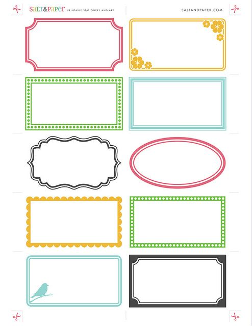 Free Blank Printable Greeting Card Template