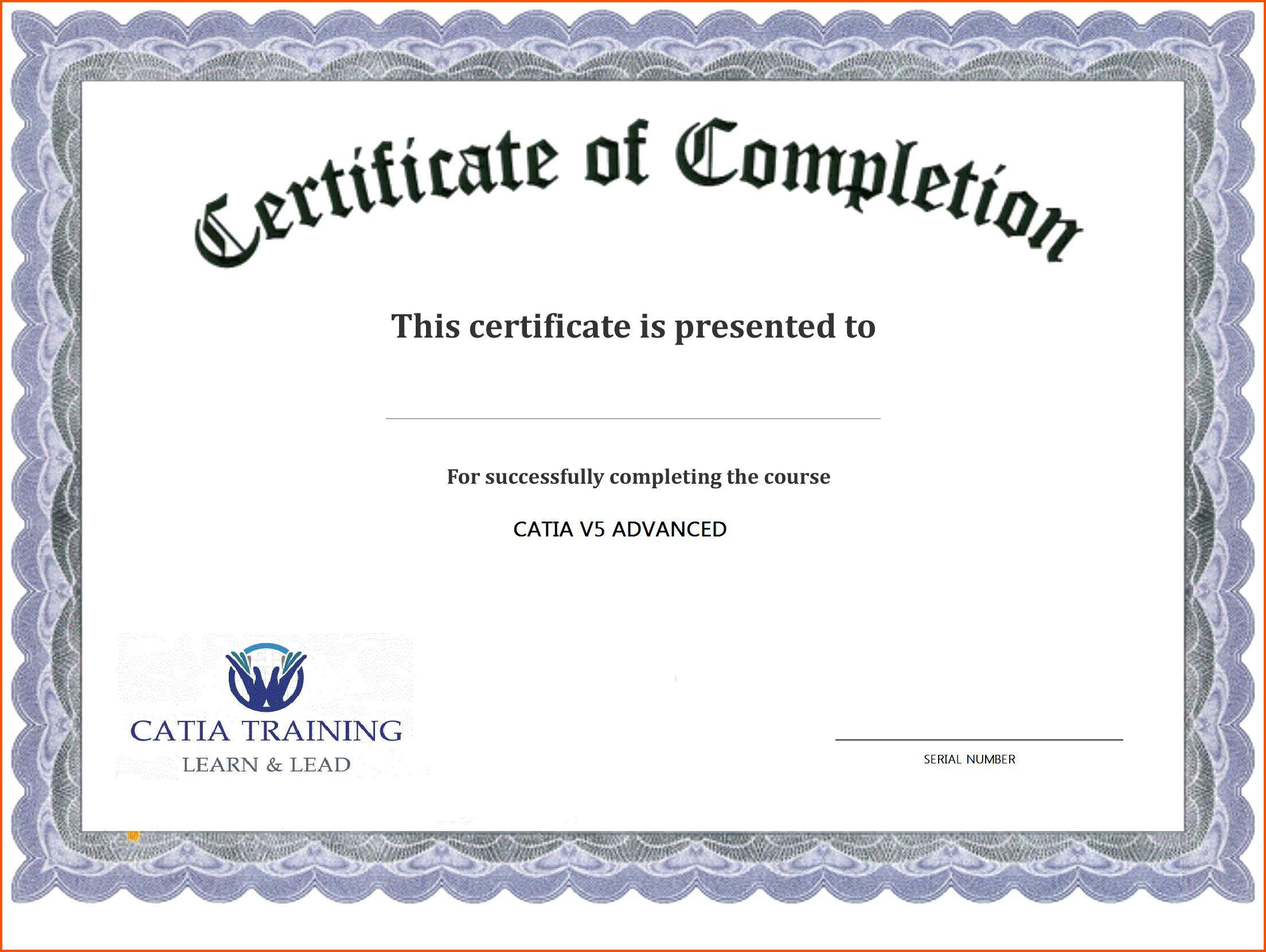 Certificate Templates Printable 2 – elsik blue cetane