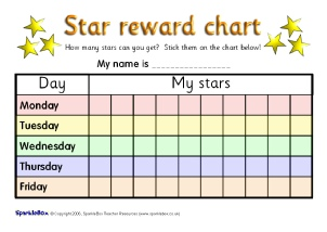 child s reward chart   Demire.agdiffusion.com
