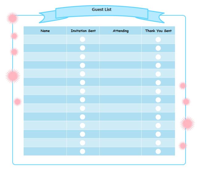 PrintableCheckList: Web Based Printable Checklist Maker