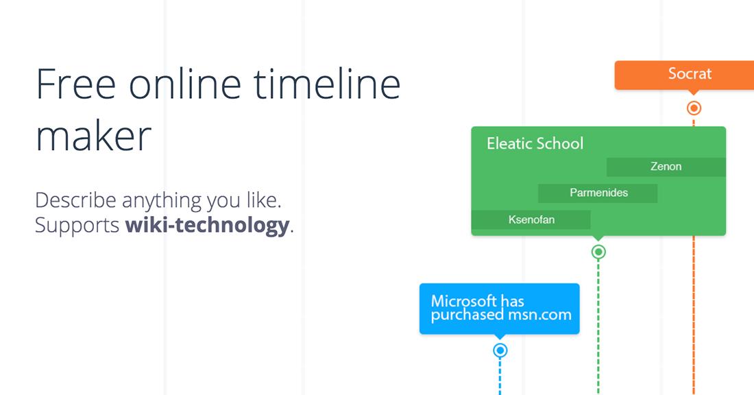 Free online timeline maker