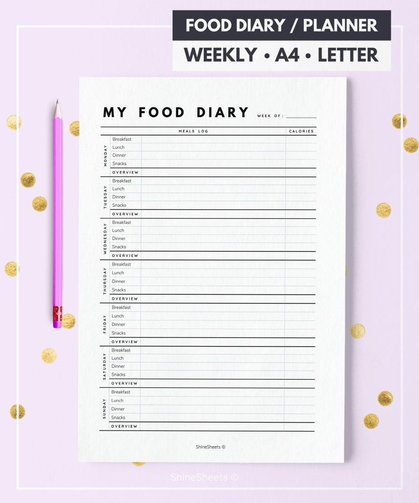 Diary Printable