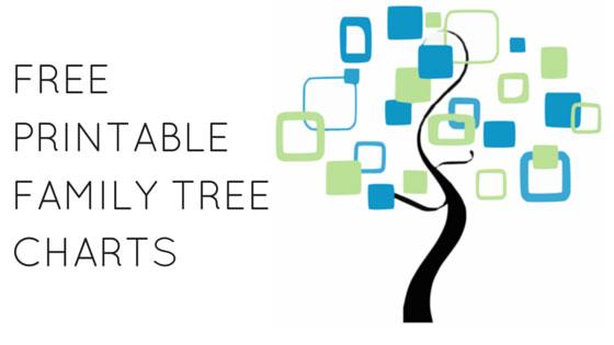 Free Family Tree Charts: Printables | Climb Your Family Tree