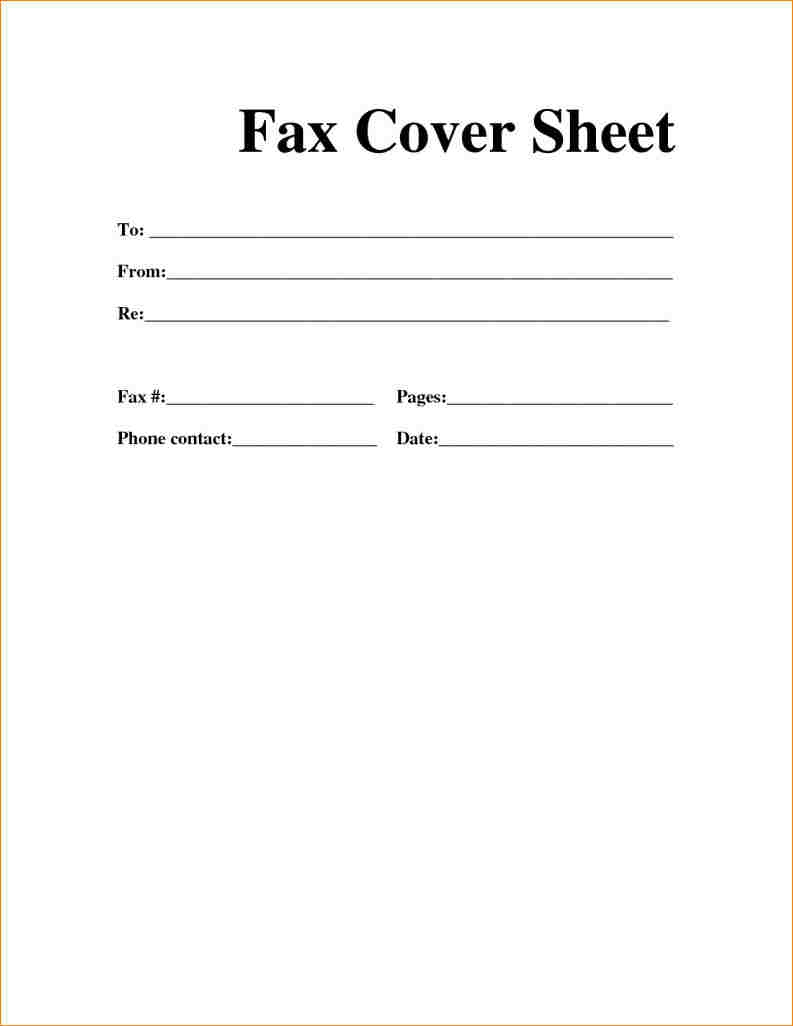 printable blank fax cover sheet   zrom.tk