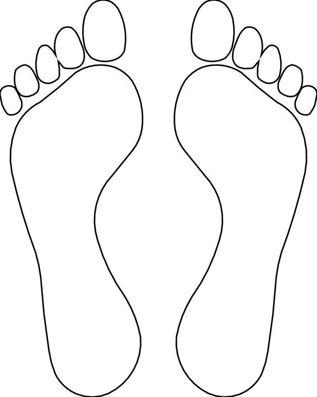 Printable Foot Template