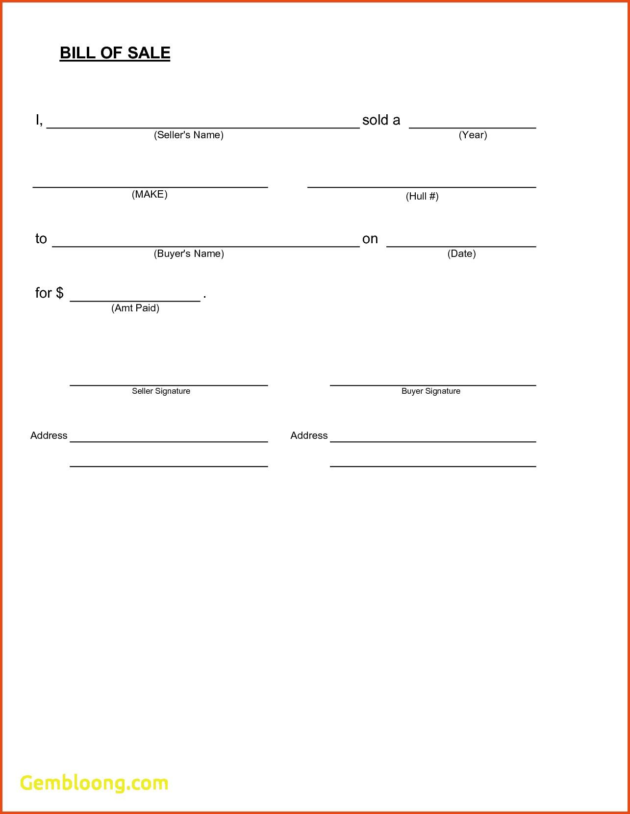 blank bill of sale form printable   Ibov.jonathandedecker.com