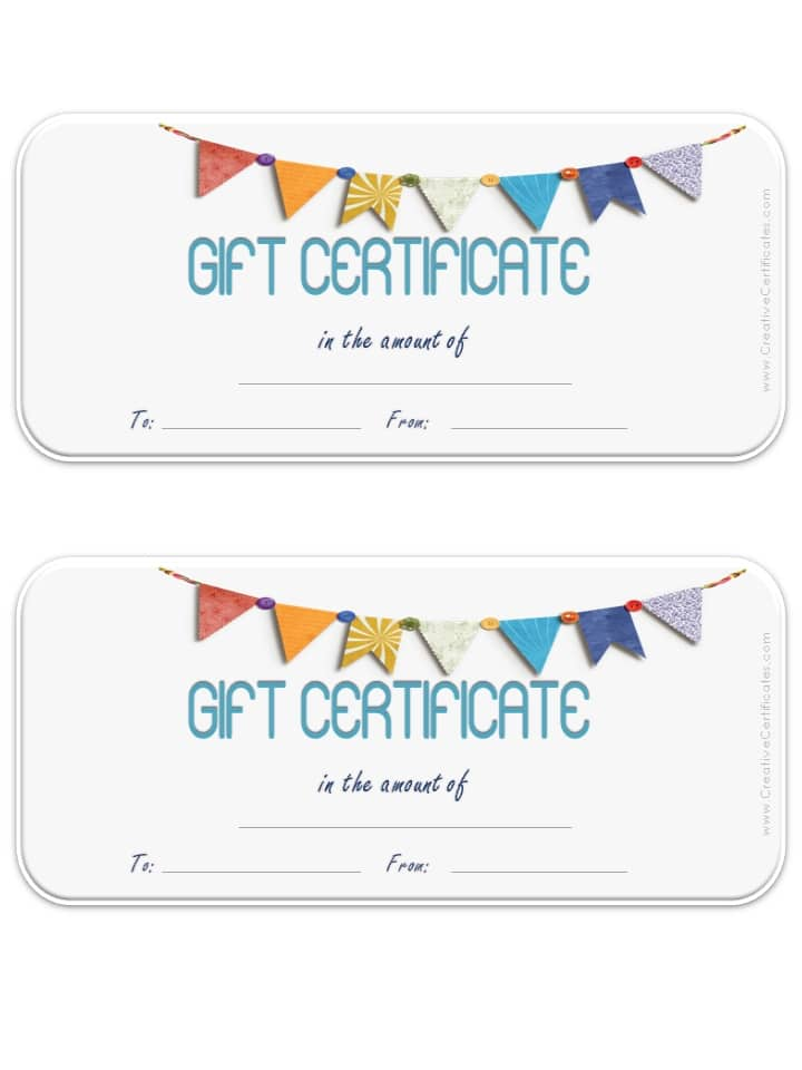 printable 8x10 gift certificate template free gift certificate
