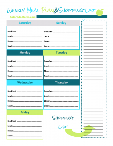 Free Printable Fitness Journal – ColoradoMoms.com
