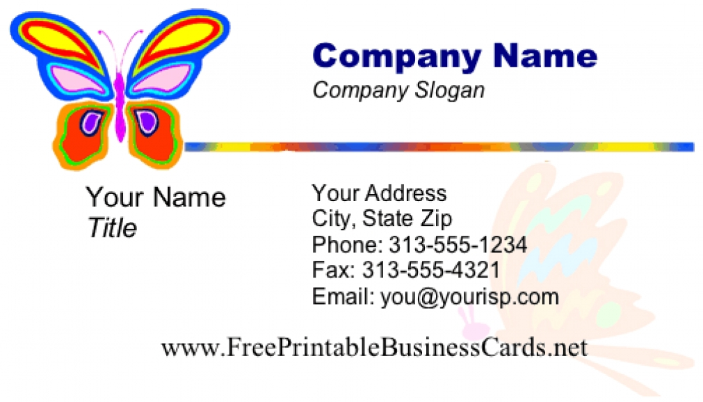 Free Online Business Card Maker