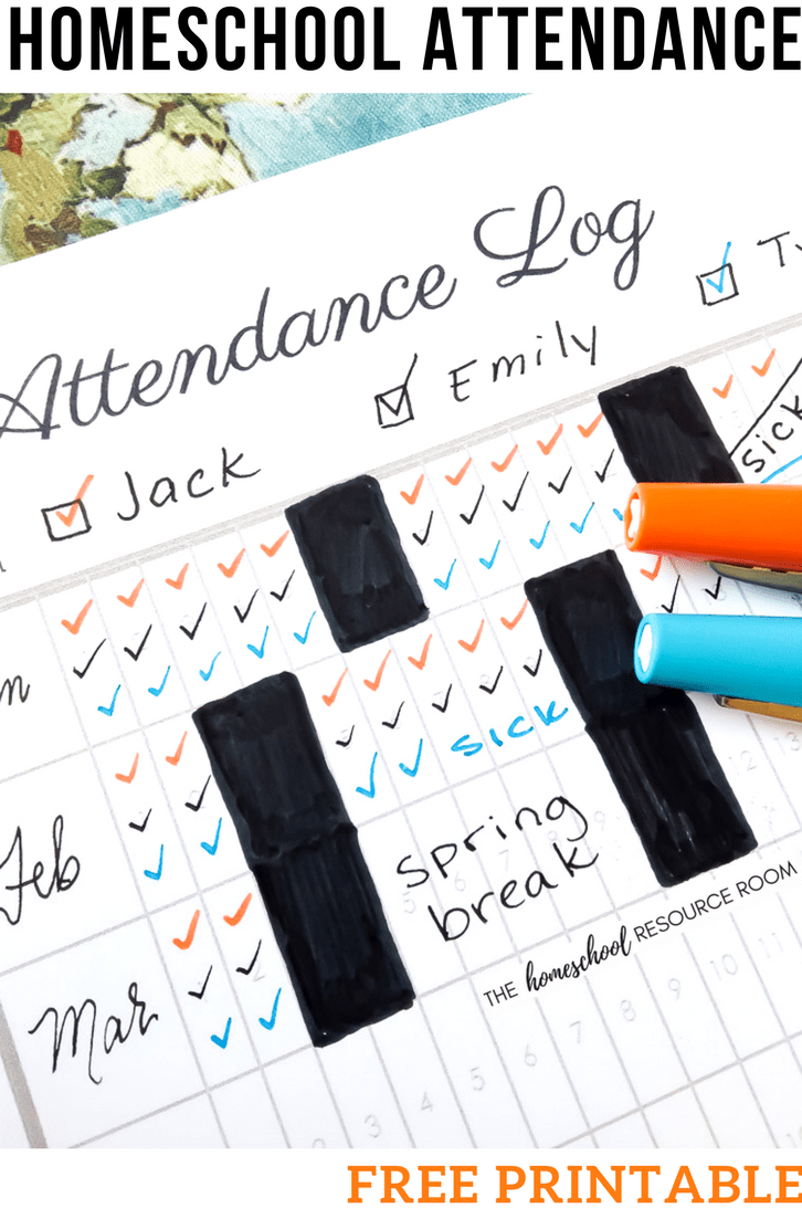 Free Printable Attendance Sheets