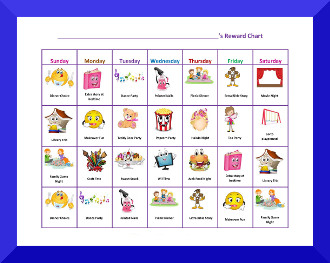 Free Printable Behavior Charts for Kids Ages 3+