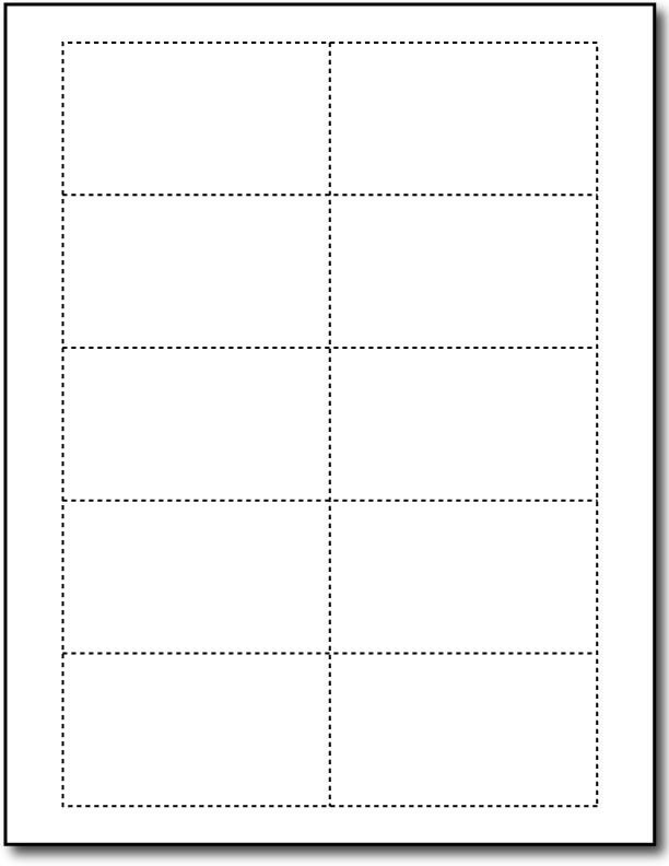 Printable Blank Business Cards Microsoft Word Business Card