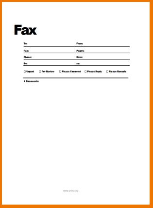 free fax sheet template   Demire.agdiffusion.com