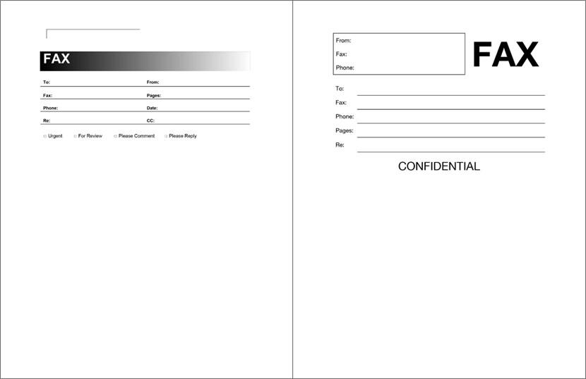 fax forms template   Demire.agdiffusion.com
