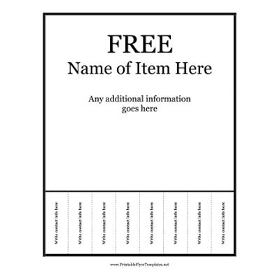 create free printable business flyers   Erkal.jonathandedecker.com