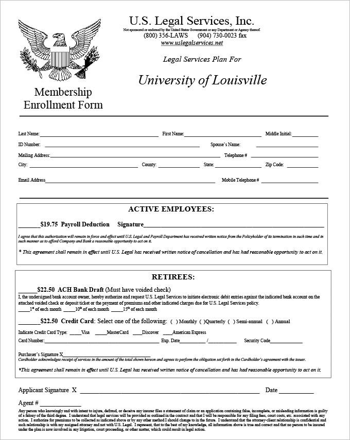 4 HR Legal Form Templates | HR Templates | Free & Premium