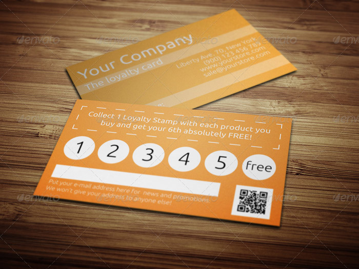 15 + Best Printable Loyalty Card Templates
