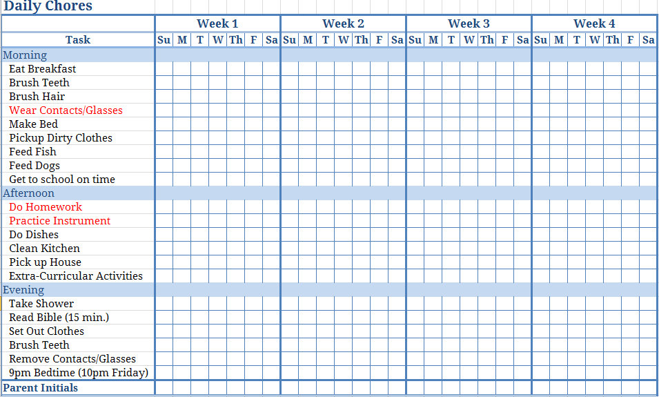 monthly chore chart   Ibov.jonathandedecker.com
