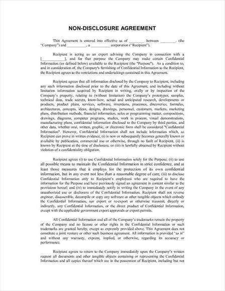 blank nda form   Ibov.jonathandedecker.com