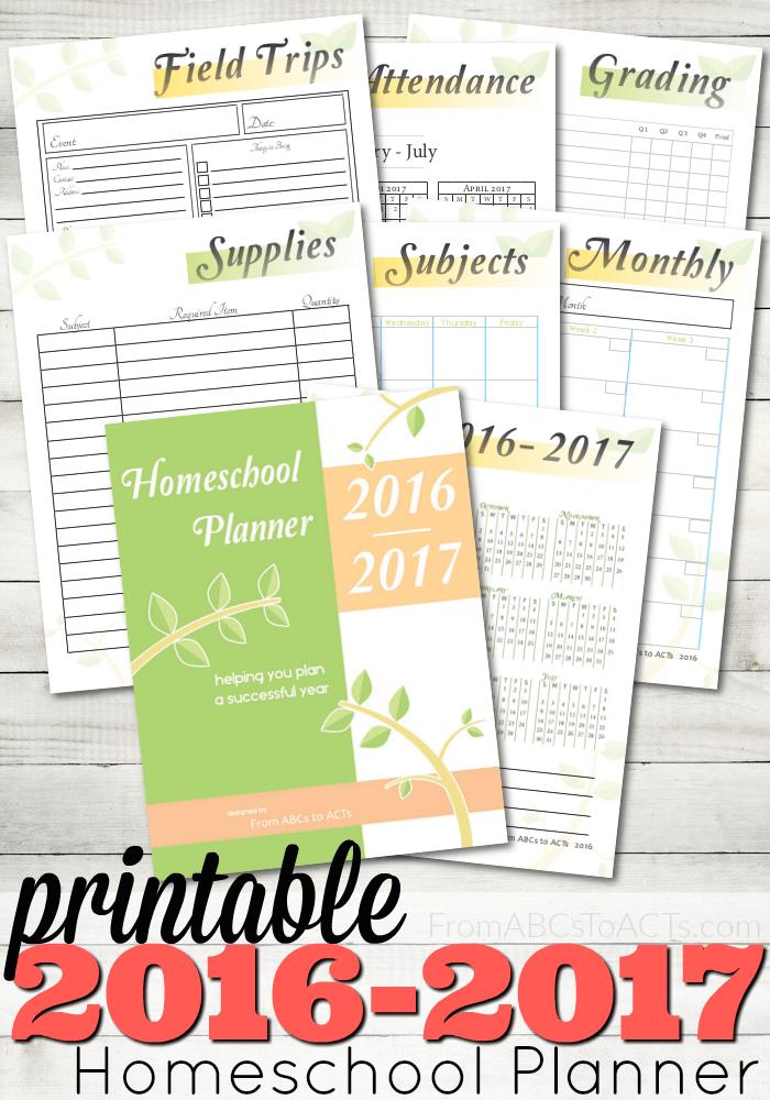 Printable 2017 Planner!   Sweet Anne Designs