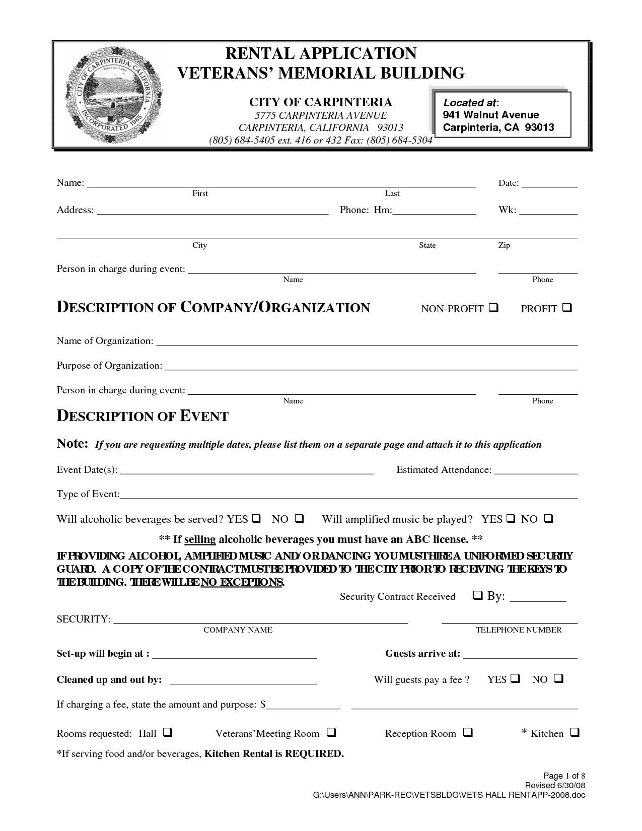 Free California Rental Agreement | gtld world congress