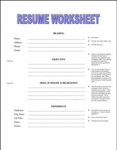 Pin by Susan Hatch on useful info | Pinterest | Resume, Resume