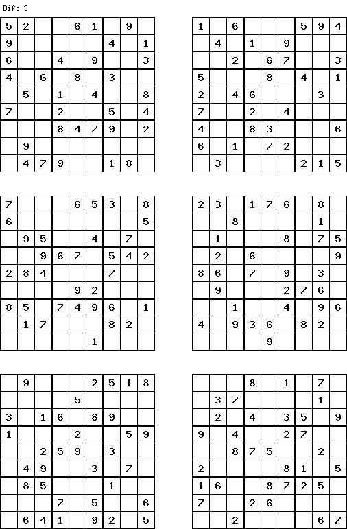 Free Sudoku Puzzles to Printable | printable sudoku grid | soduko