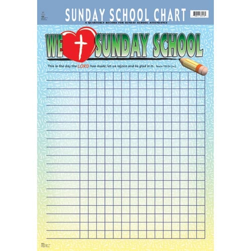 Sunday School Attendance Sheet Printable Charts Well Photo