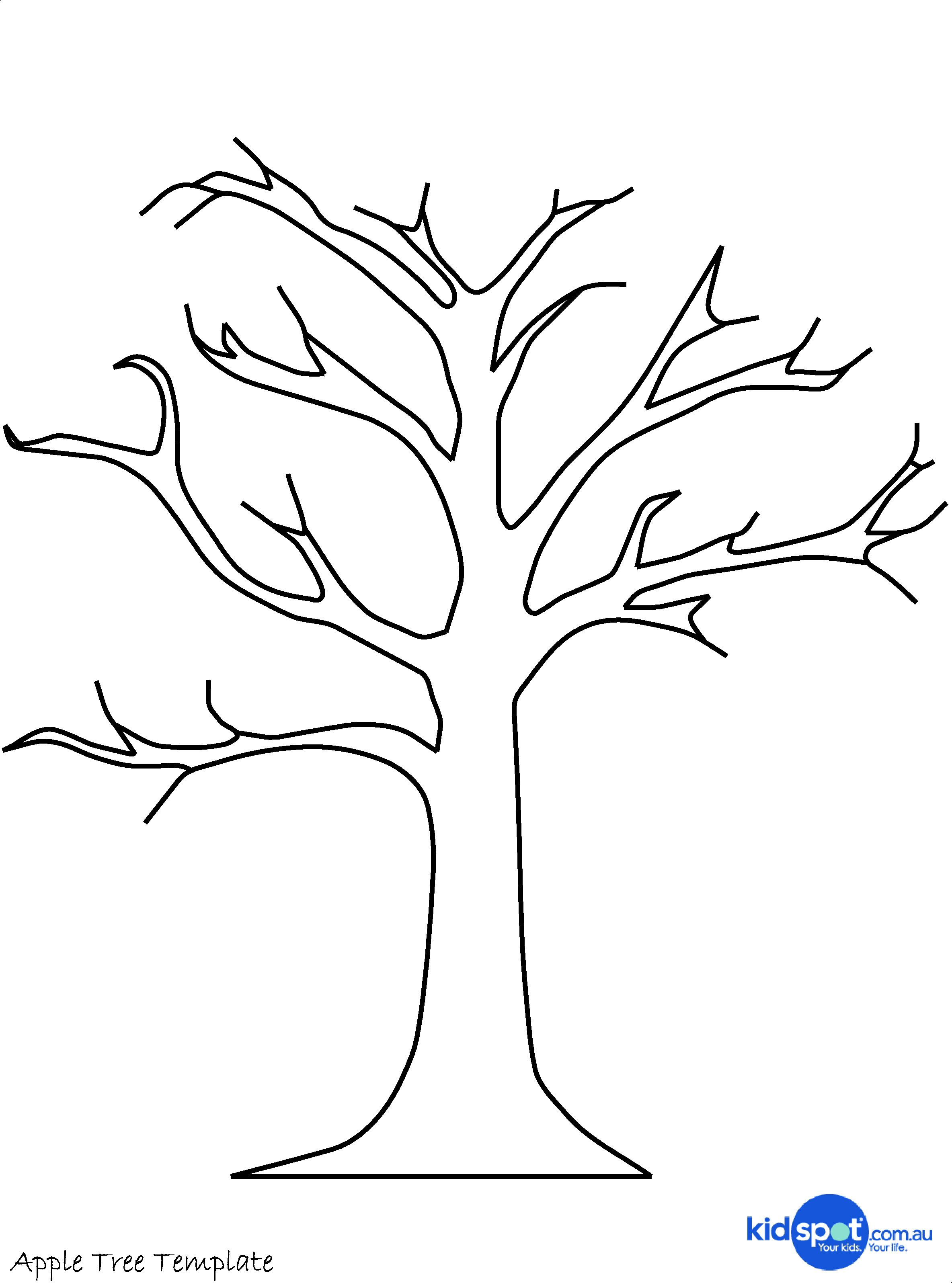 Free Stencil Of A Tree Outline, Download Free Clip Art, Free Clip