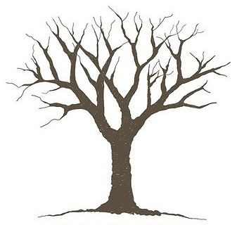 Birch Tree Stencil | Free Stencil Gallery