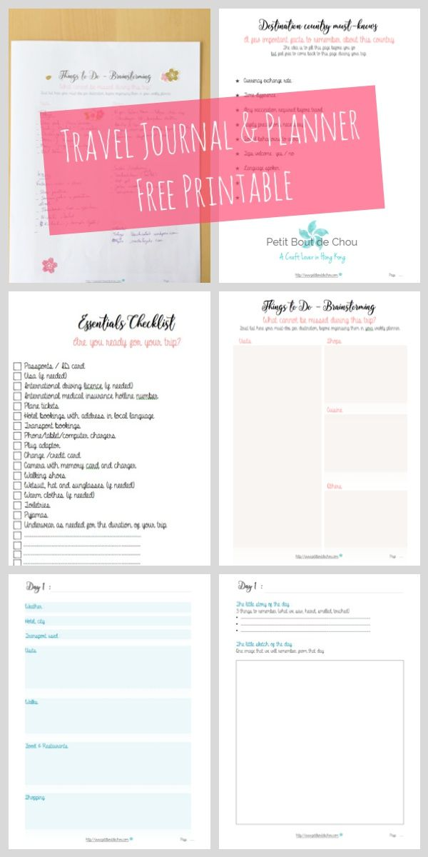 picture about Free Printable Vacation Planner named Totally free Printable Family vacation Planner retailer refreshing