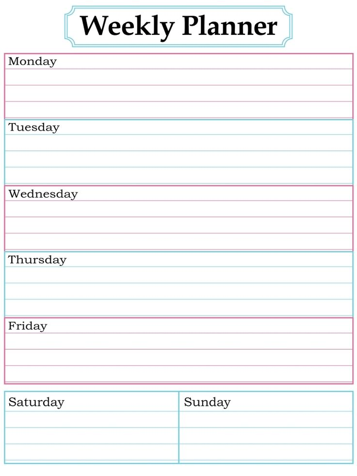 printable weekly calendar with time slots   Demire.agdiffusion.com