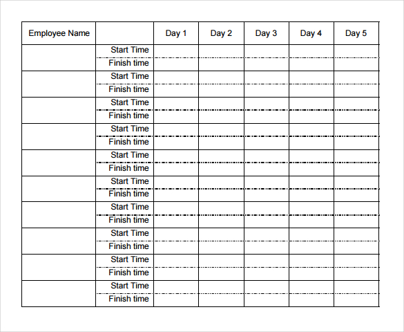 weekly time sheets   Ibov.jonathandedecker.com