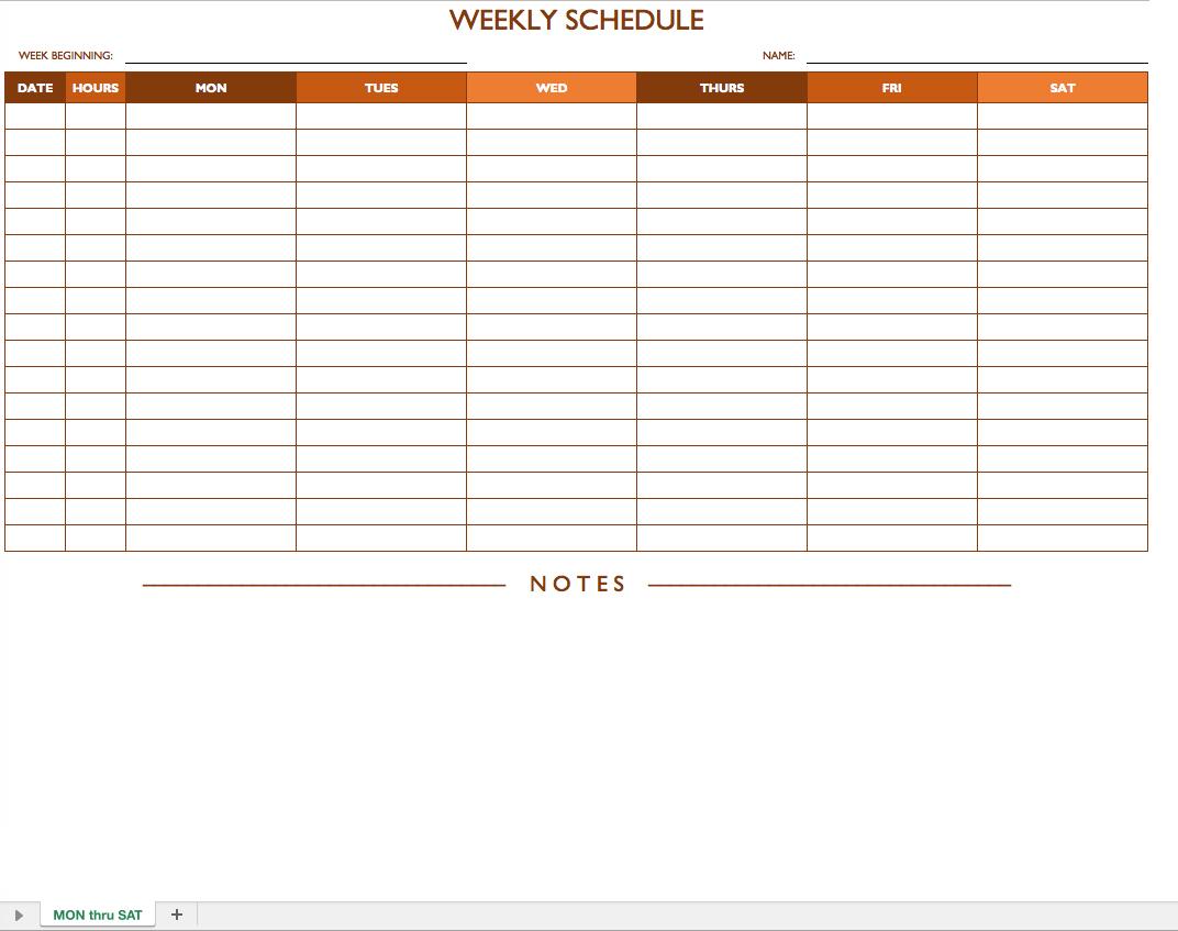 Free Printable Work Schedules Savebtsaco Free Work Schedule