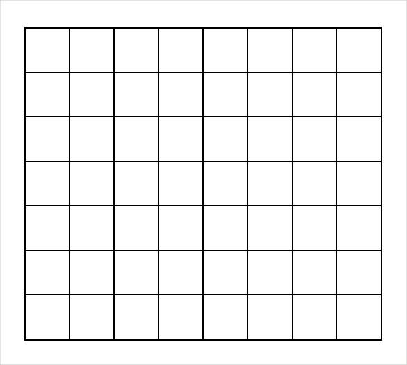1 Inch Grid Paper | Woo! Jr. Kids Activities