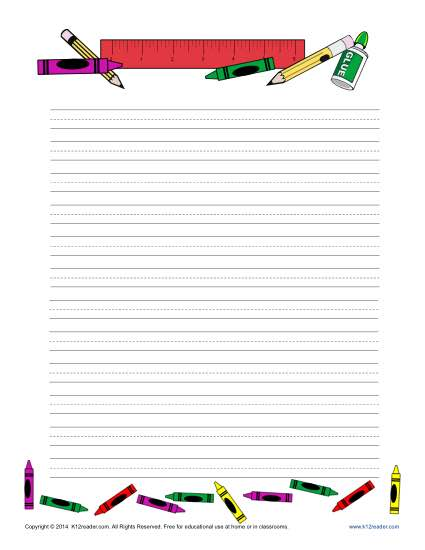 free printable lined writing paper free lined writing paper for