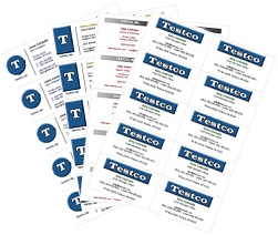 Printable Business Card Templates   Create Free
