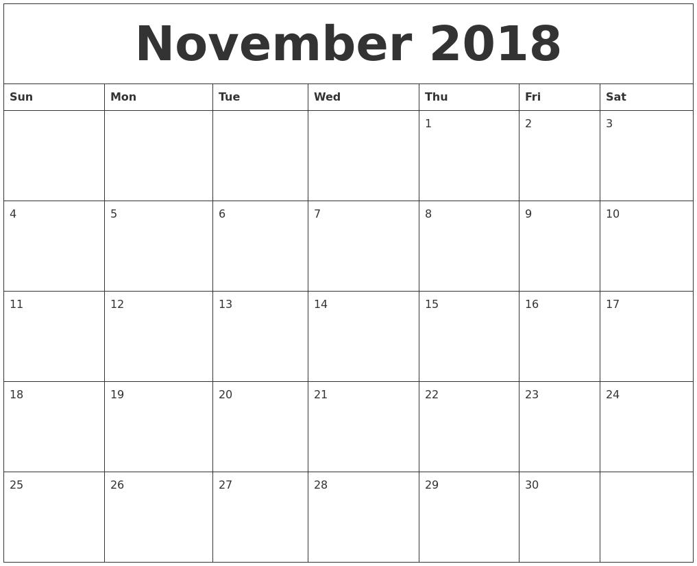 online calendar 2018 printable   zrom.tk