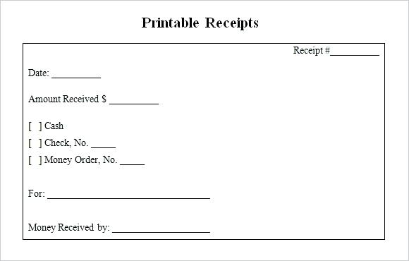 Receipt Print Out   Fill Online, Printable, Fillable, Blank
