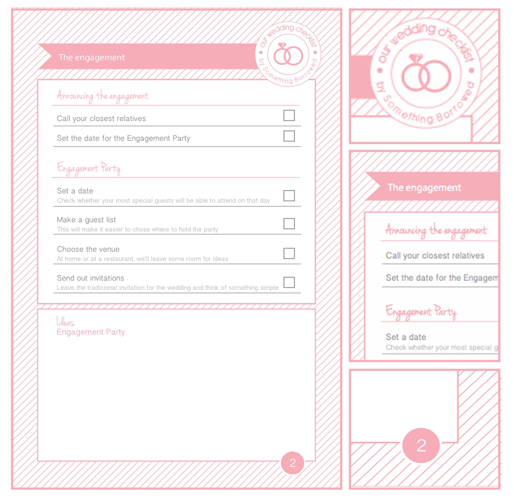 Wedding Planning Calendar Printable   photography calendar