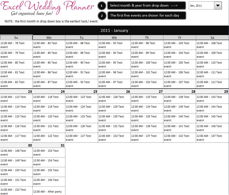 Wedding Planner Book Free Online – Free Wedding Template