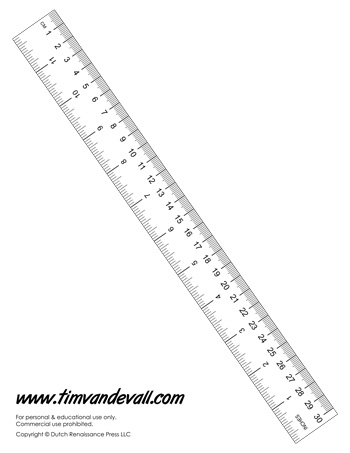 image relating to Online Printable Ruler referred to as Paper Rulers Printable retail store refreshing