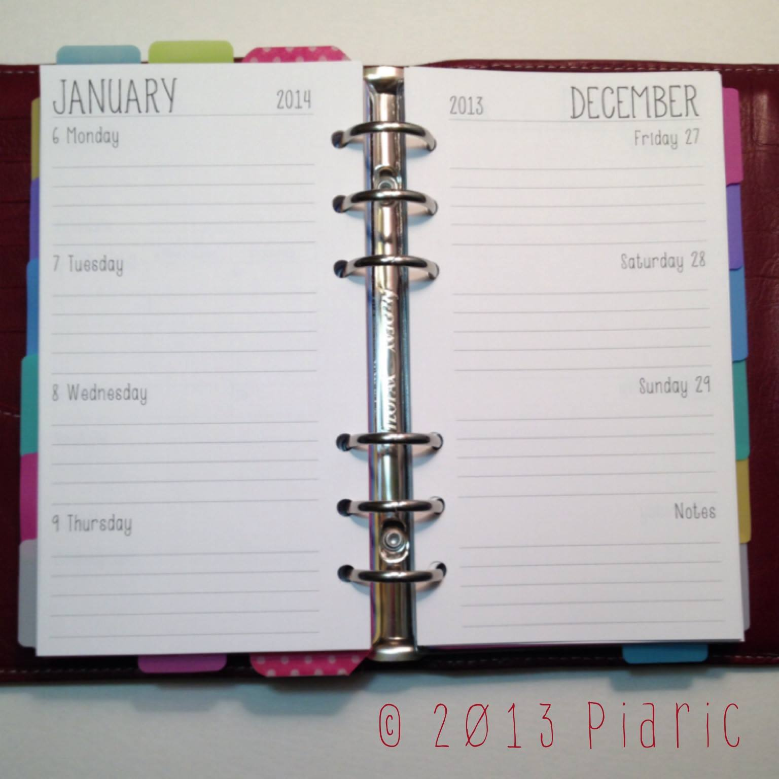 Free Printable Planner Inserts for Franklin Covey/Filofax – This