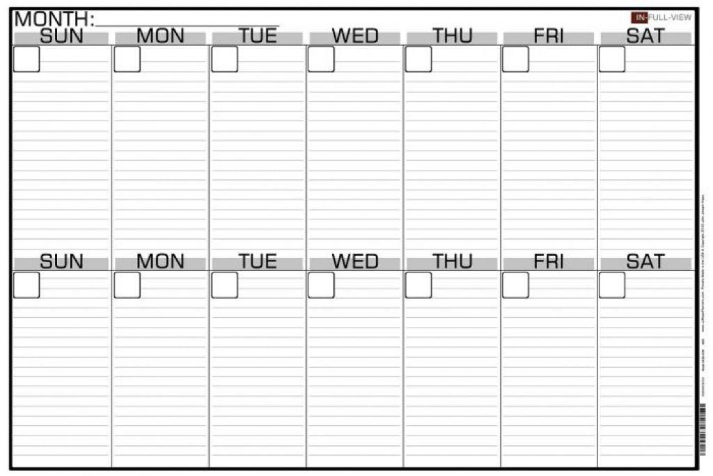 Printable 2 Week Calendar Planner Templat Printable 2 Month