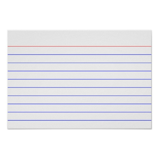graphic regarding Printable Index Cards named Printable 5×7 Index Playing cards store clean