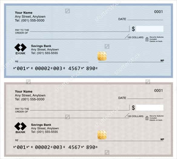 24+ Blank Check Template   DOC, PSD, PDF & Vector Formats | Free